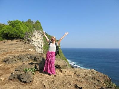 With Rajat Ratika - Balangan beach