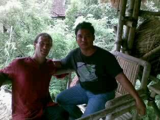 with thomas at ubud